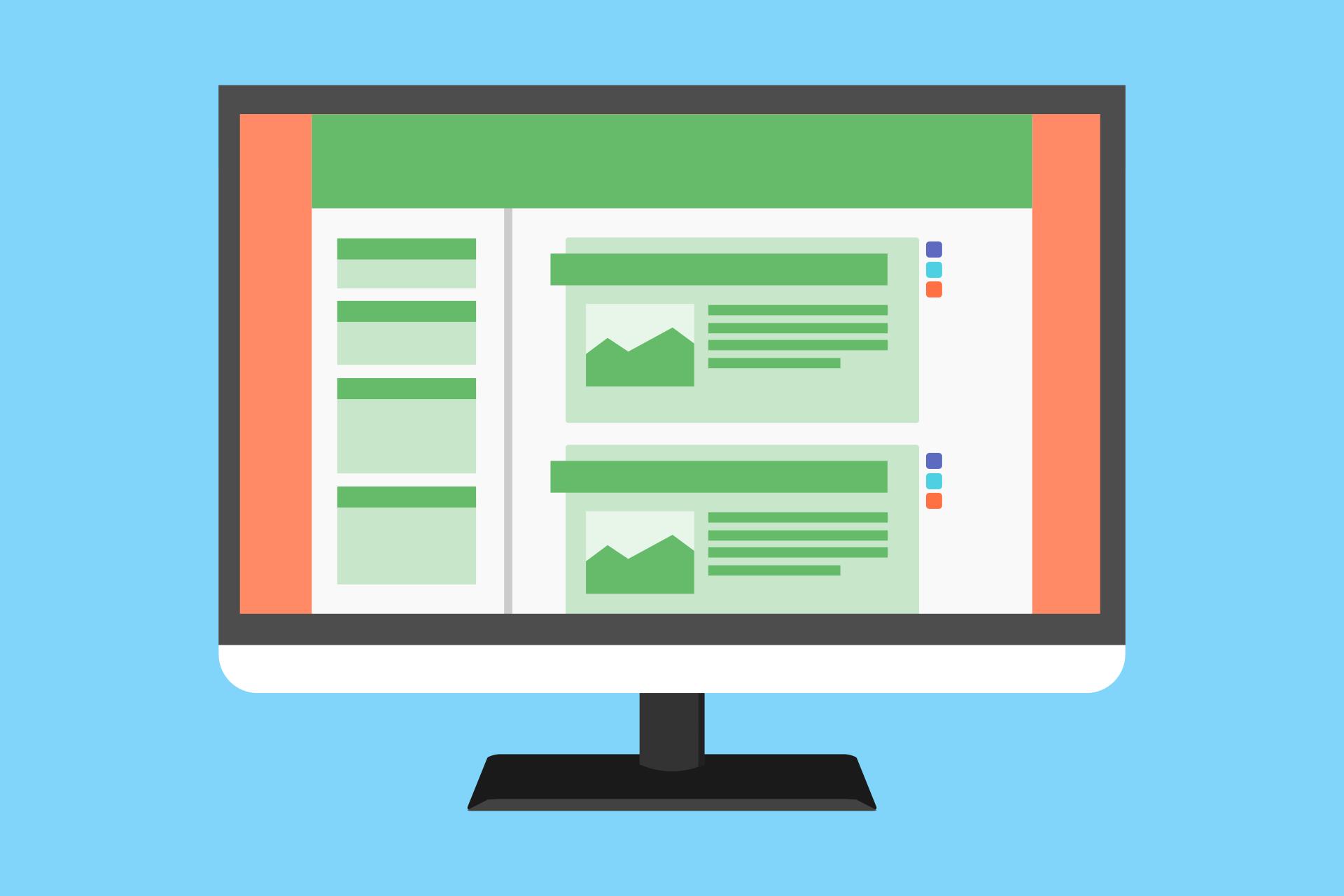 Opções de página inicial e modelos de páginas do WordPress